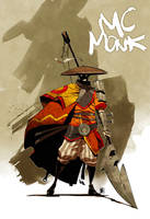 MC Monk by Shwann