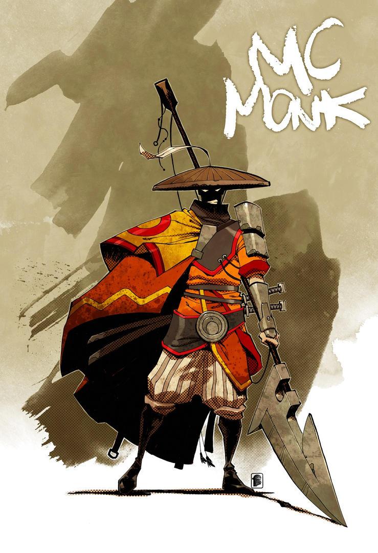 MC Monk by Shwann
