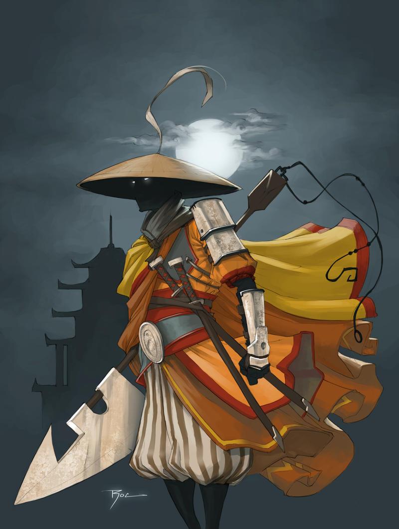 MC Monk by Johnnyrocwell by Shwann