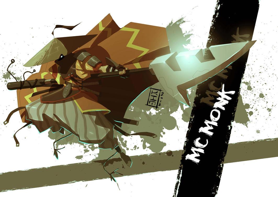 MC Monk by KimJacinto by Shwann