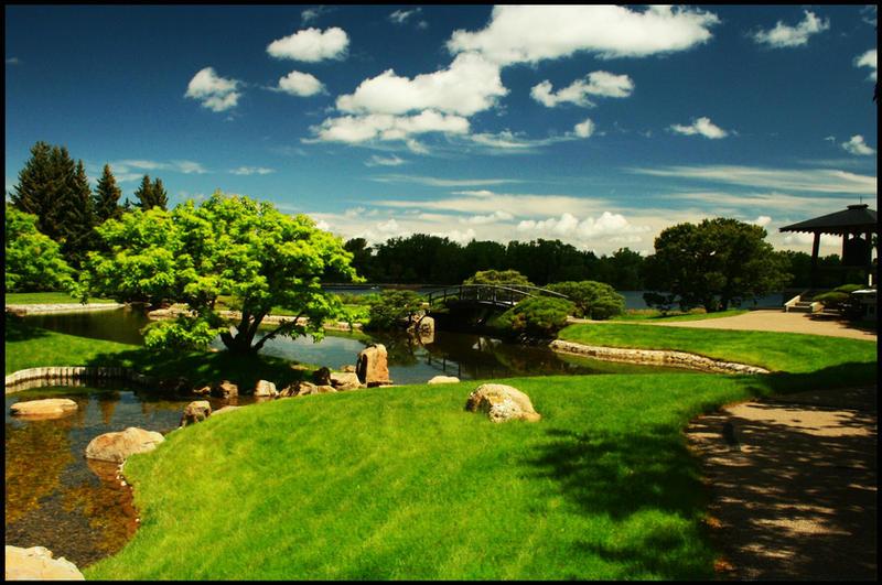Japanese Garden by LEGENDofLMPF