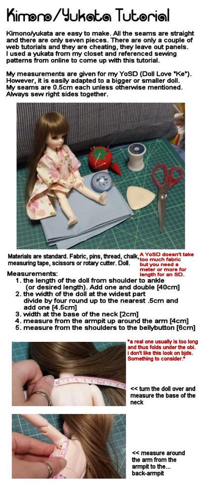 Kimono or Yukata Tutorial Part 1 by audi-hart on DeviantArt