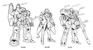 Our Second Mecha Concept For Star Crossed