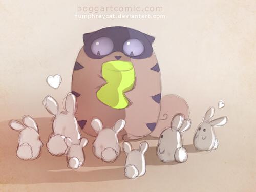 marshmallows buns by humphreycat