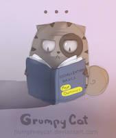 grumpy expert by humphreycat
