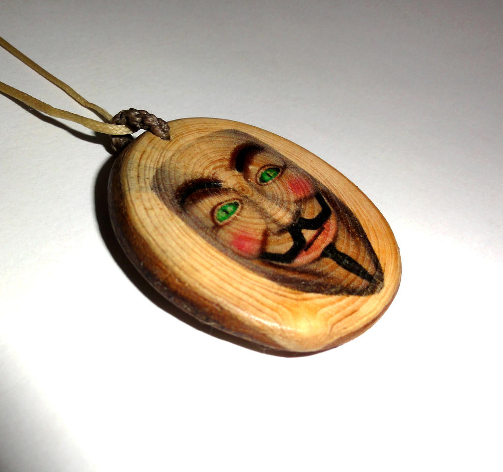 Anonymous mask wooden pendant necklace guy fawkes by plexeurope on guy fawkes by plexeurope anonymous mask wooden pendant necklace guy fawkes by plexeurope aloadofball Gallery