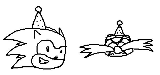 Happy Birthday Sonic! by BobDaScatcherGuy