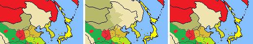 Manchu Mengjiang Khanate border conflicts