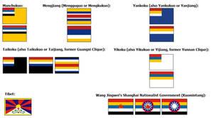 Co-Prosperity Sphere Flags