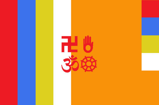 Japanese Bali Kingdom Flag 3 by SheldonOswaldLee