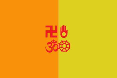 Japanese Bali Kingdom Flag 7 by SheldonOswaldLee