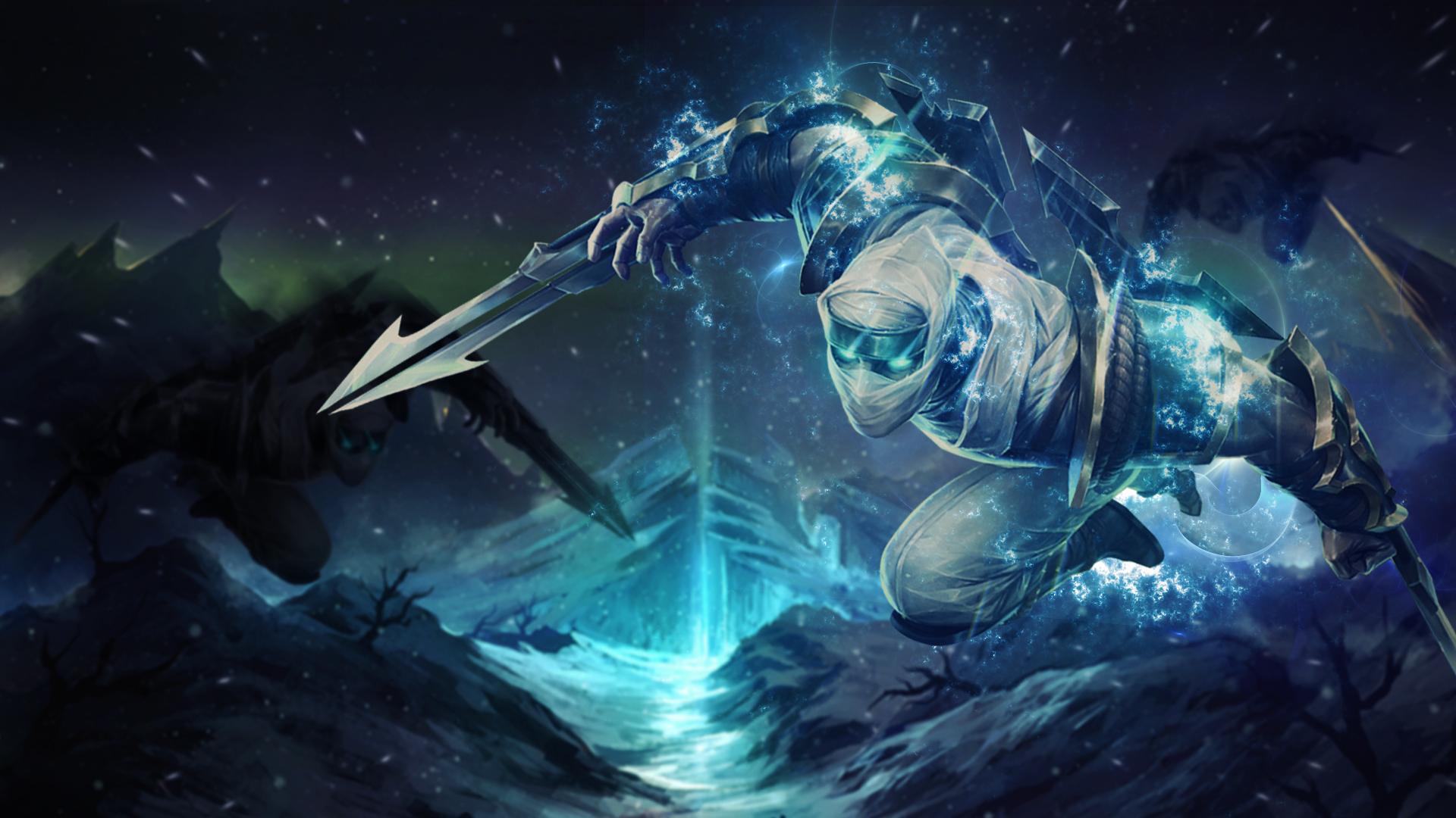 league of legends zed desktop wallpaper by trinexz