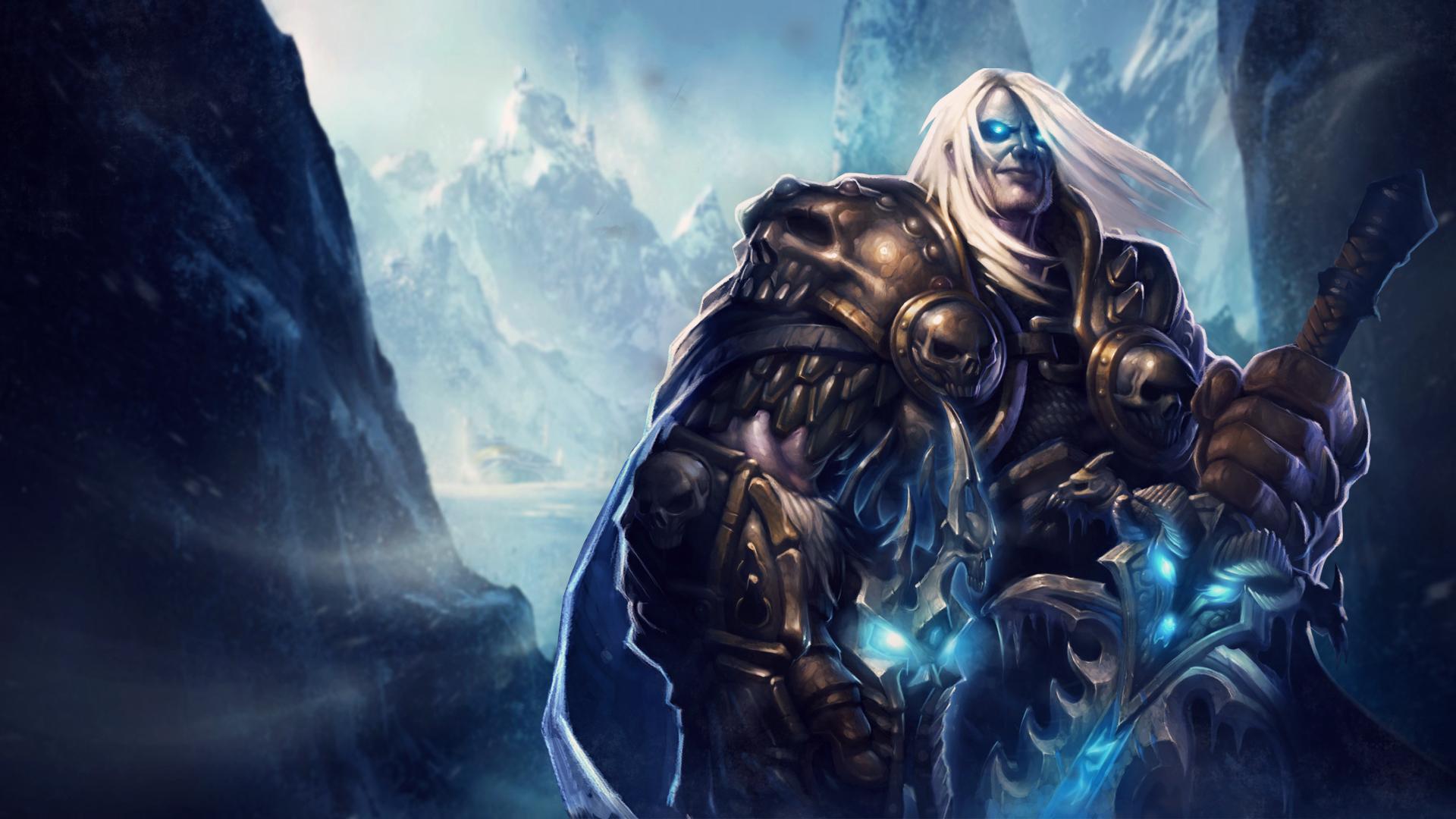 World Of Warcraft Arthas Wallpaper By Trinexz On Deviantart
