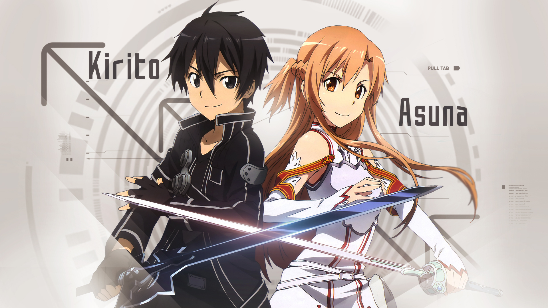 Sword Art Online - Kirito and Asuna Wallpaper by Trinexz ...