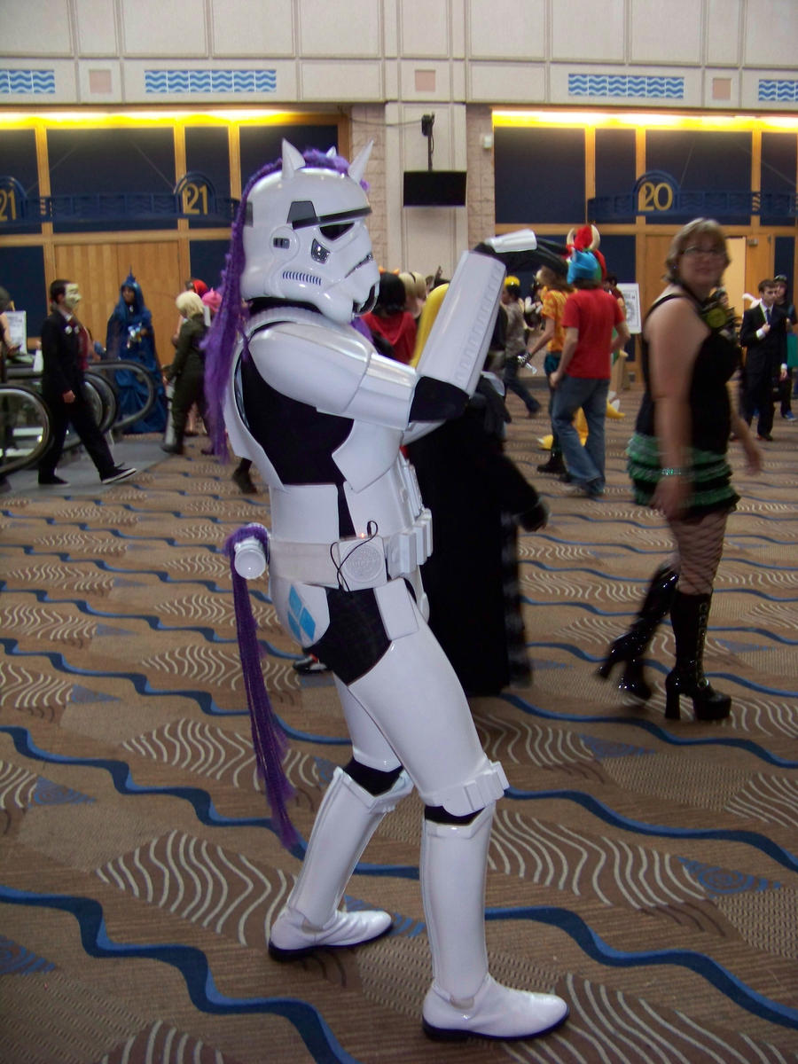 My Little Pony Stormtrooper by Dream-finder
