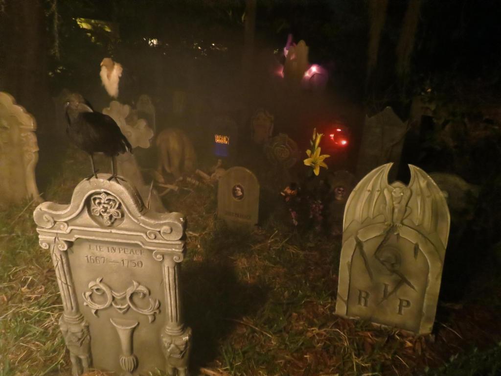 Foggy Graveyard by Dream-finder