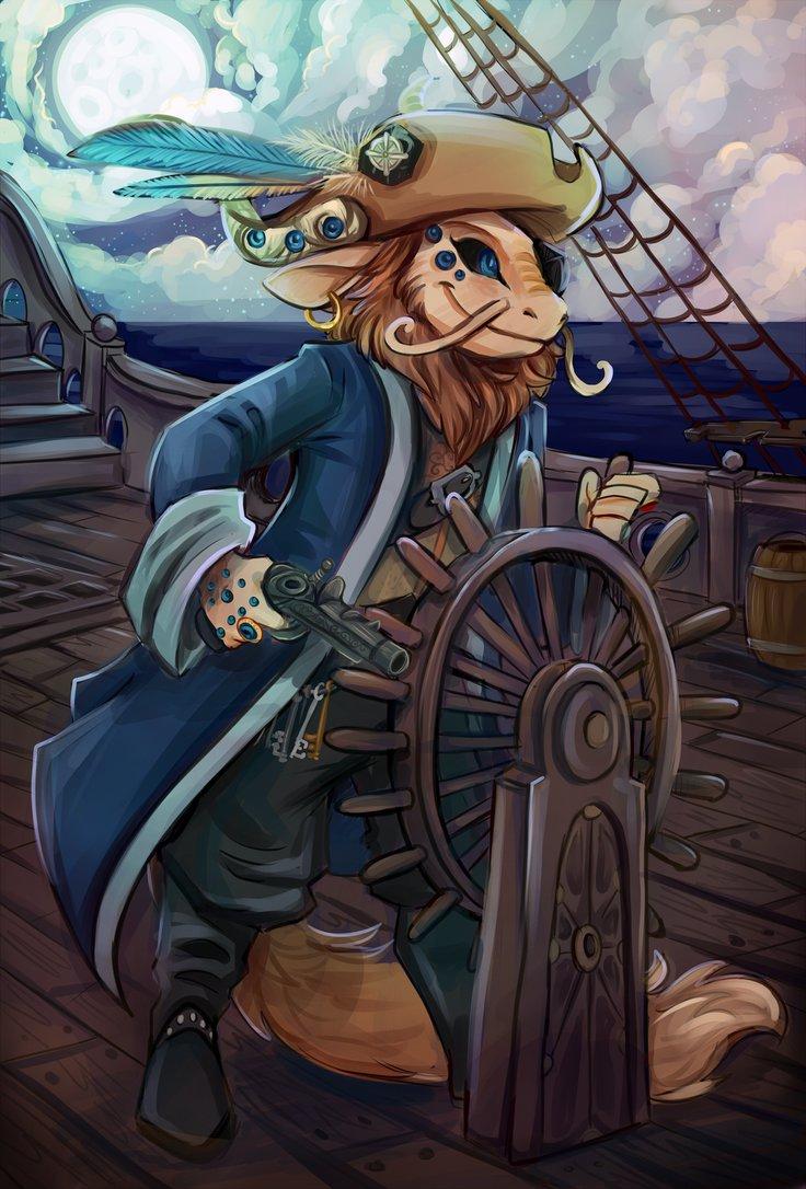 Pirate dreamfinder By Sharkie19 by Dream-finder