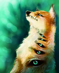 Six Foxy Eyes by Disoxyde