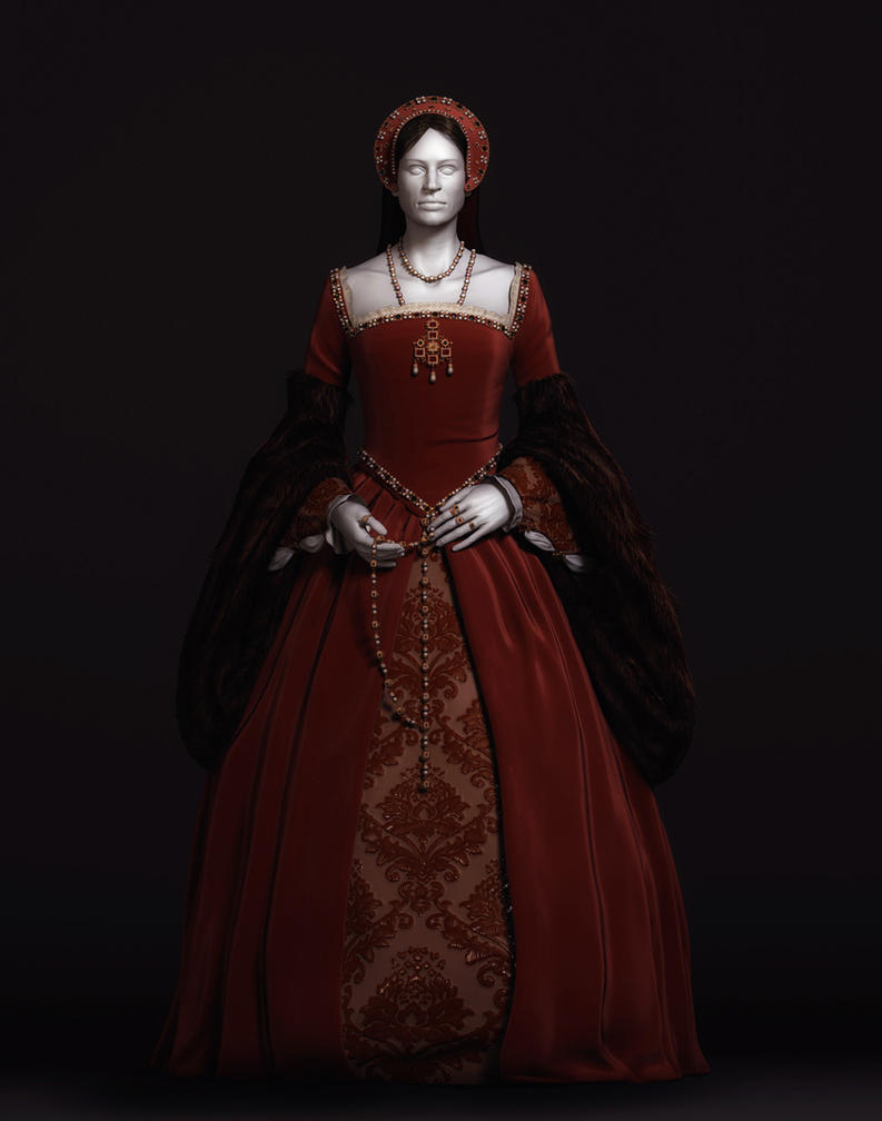 Tudor Gown by Intervain on DeviantArt