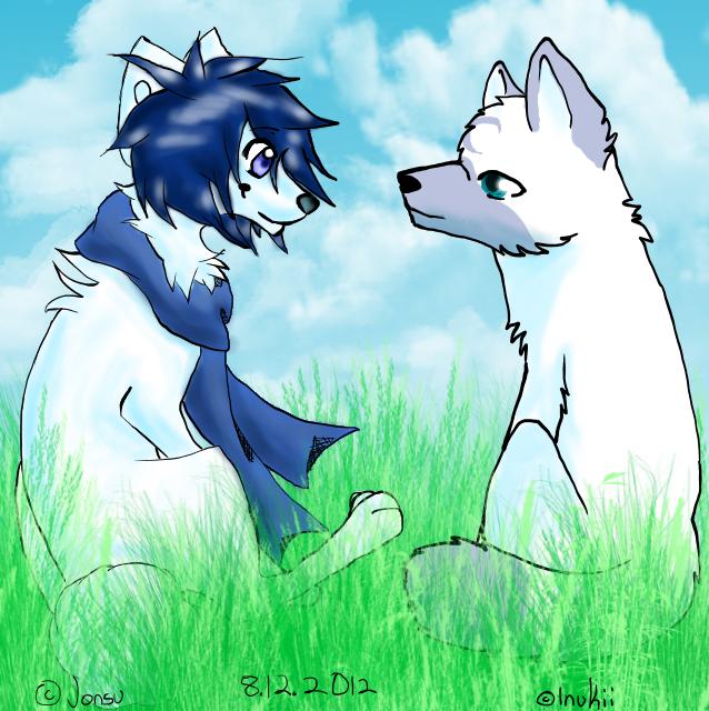 Grass by InuKii