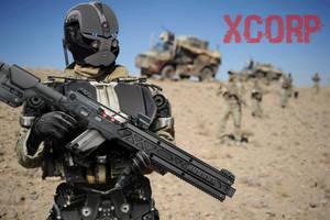 Cyborg +XRG1 by AdamJensen27