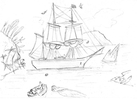 HMS Greyhound by Concavenator