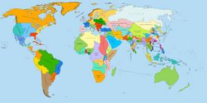 Equal population zones