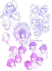 SketchDumpGorillaz