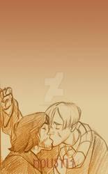 wolfstar kiss