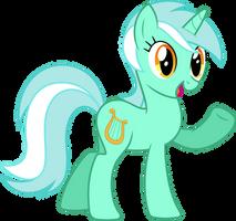 Lyra says 'Hi' by Trildar