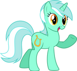 Lyra says 'Hi'