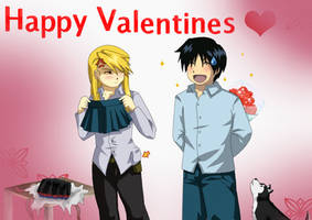 mini skirt valentines by Kay-Jay97