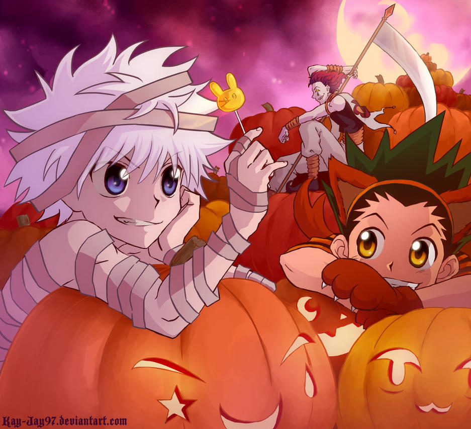 Hunter X Halloween by Kay-Jay97