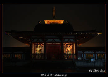 Temple's night by ikari-luis