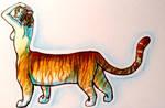 Golden Tiger by NeoSkejd
