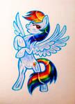 Rainbow Dash by NeoSkejd