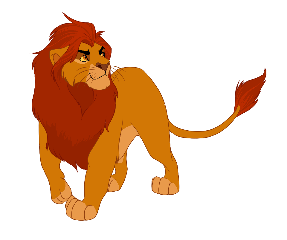 Adult Kion by NeoSkejd