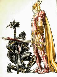 John vs Ser Jordayne by NeoSkejd