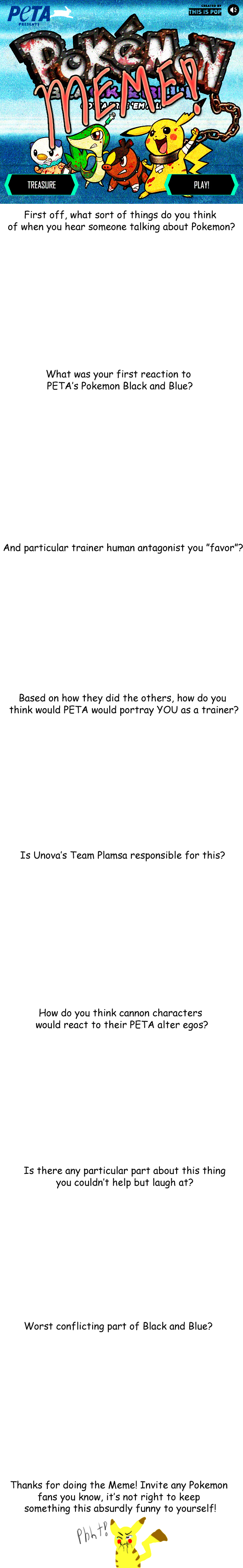 Pokemon Meme: PETA's Black and Blue by Aniral