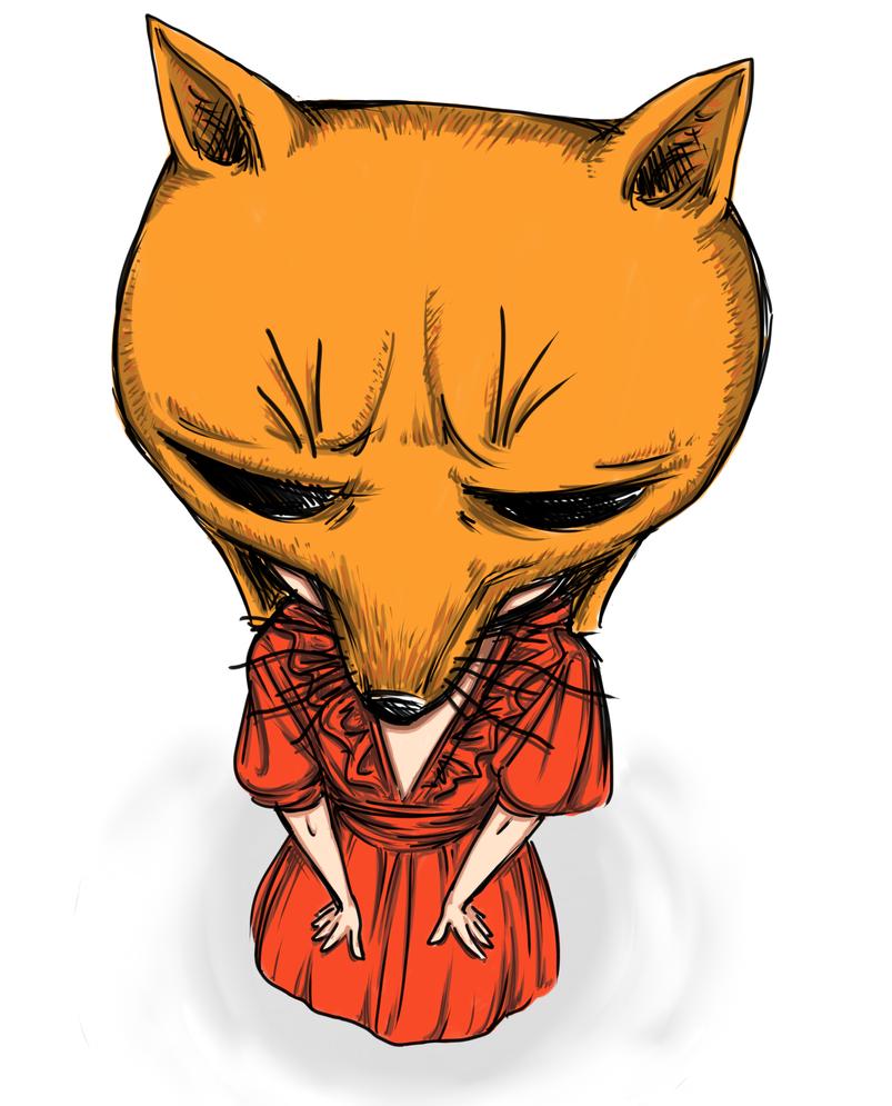 Peter Gabriel-Fox by LirraKateSirin