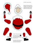 Santa papercraft