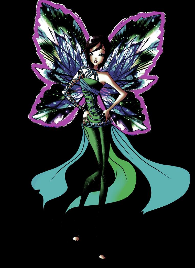 Dark Dreamix Tecna (my version) by Wiki09818