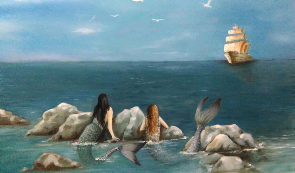 Mermaids -  visitors by 13571979