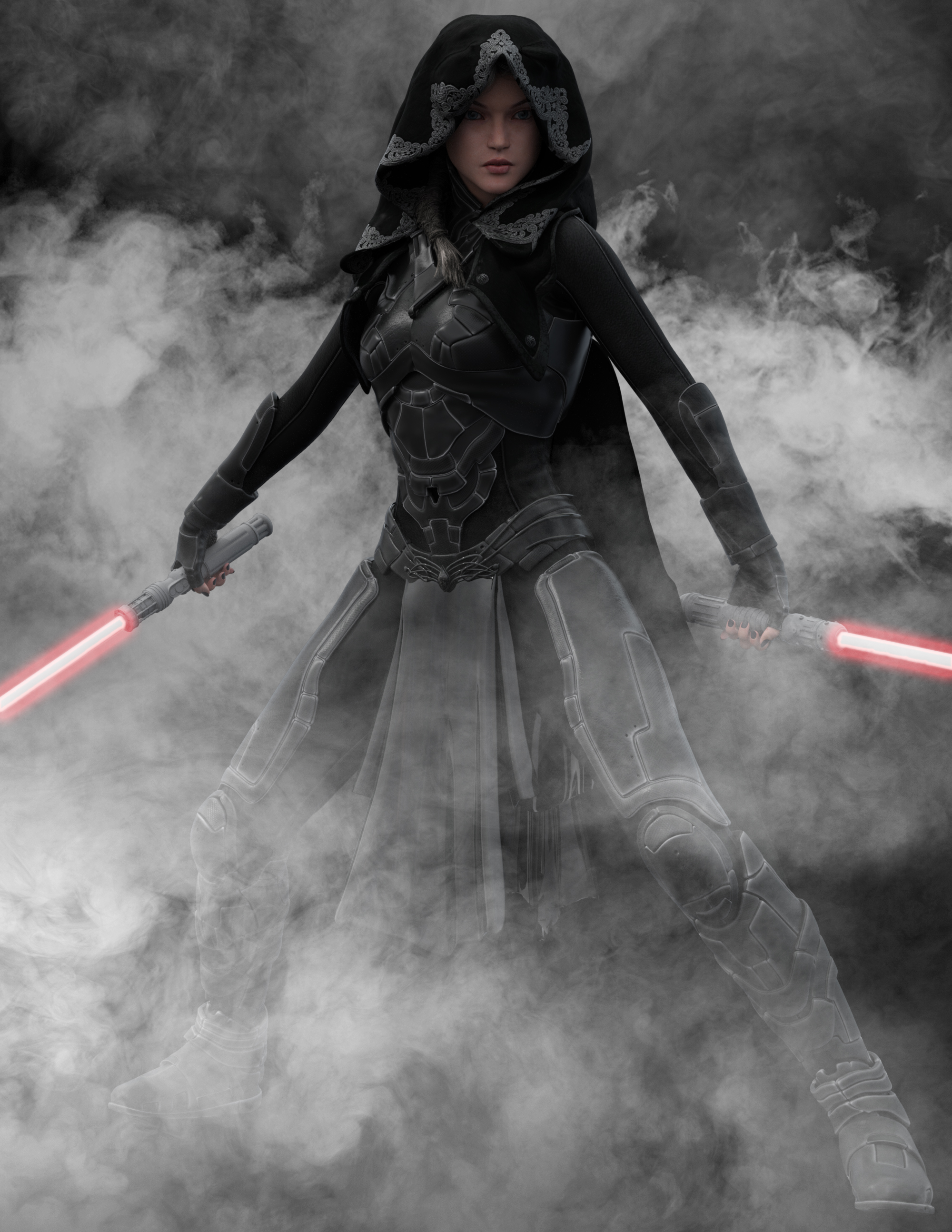 Dark Jedi by chrisryder123
