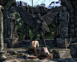 Temple of Eladria Statue