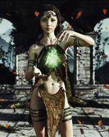 Green Mage by chrisryder123