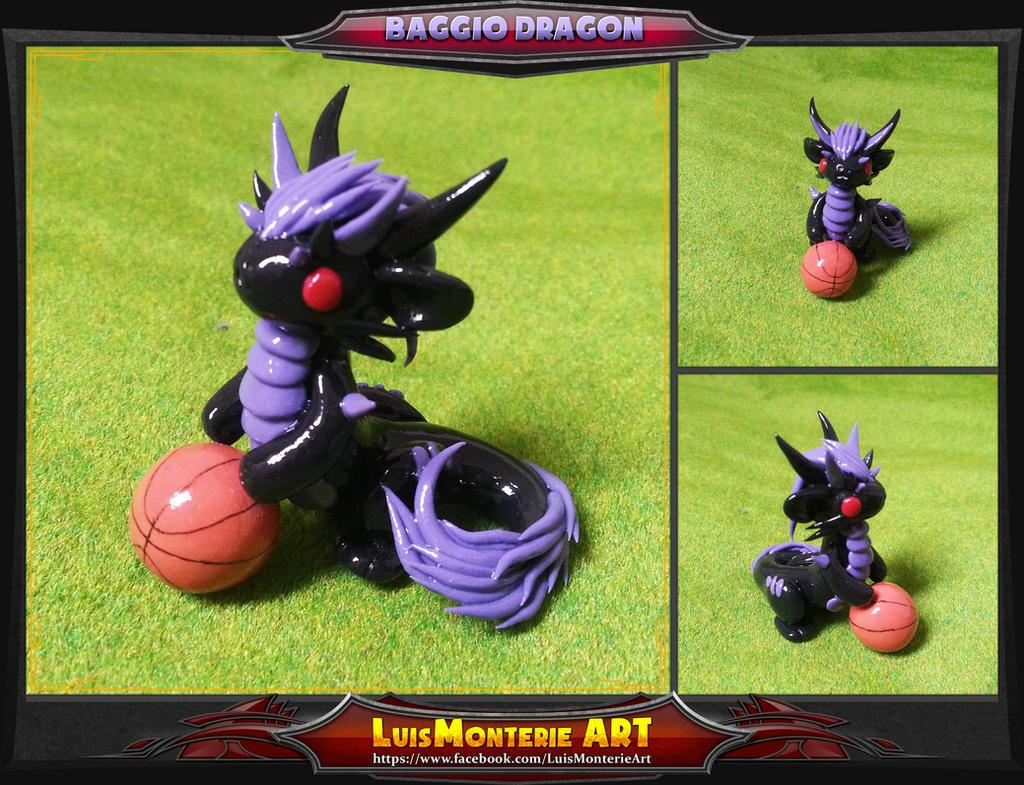 Baggio Dragon by LuisMonterieArt