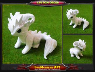Wind Dragon by LuisMonterieArt