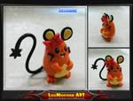 Pokemon Dedenne by LuisMonterieArt
