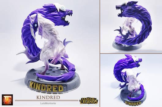 League of Legends - Kindred _ Sculpt This Again